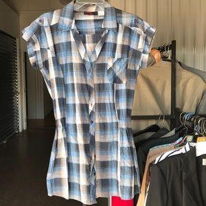What's Hot... shirt top tunic Sz XL 14-16